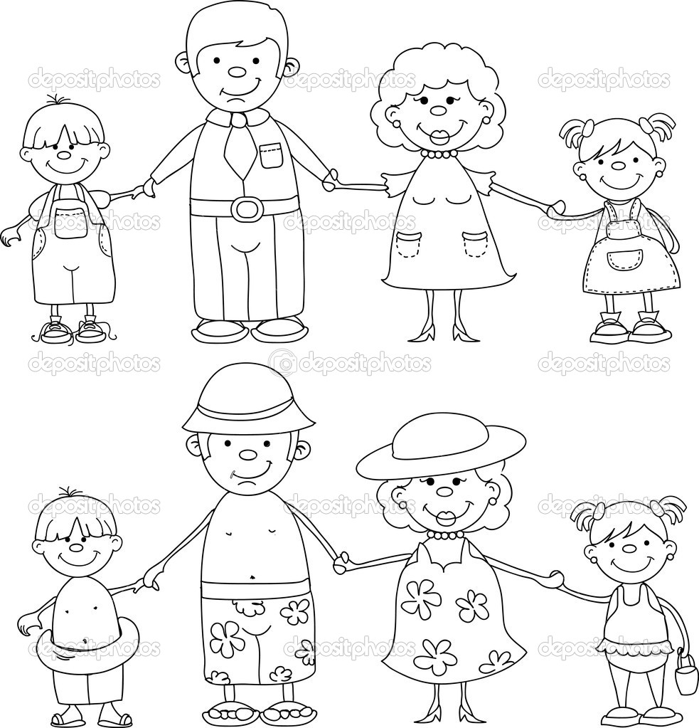 16 Best Images of Worksheets About Family Members