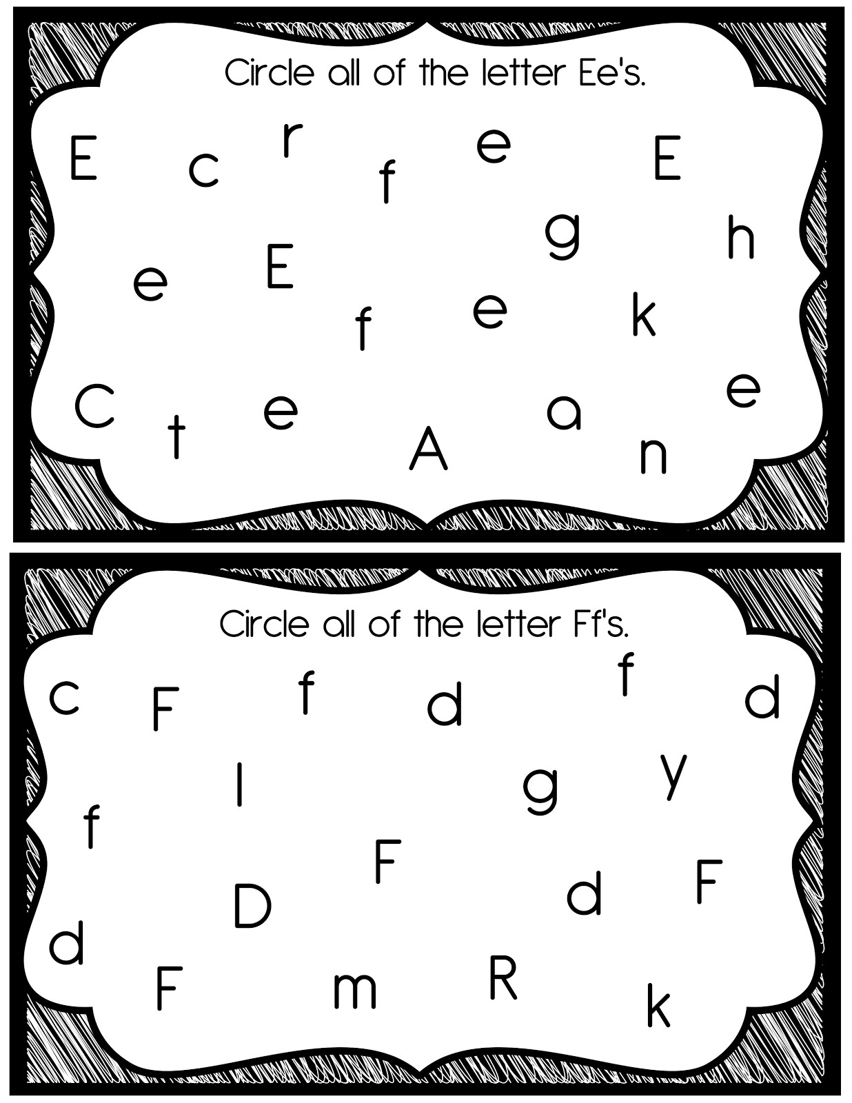 17 Best Images Of Visual Form Constancy Worksheets