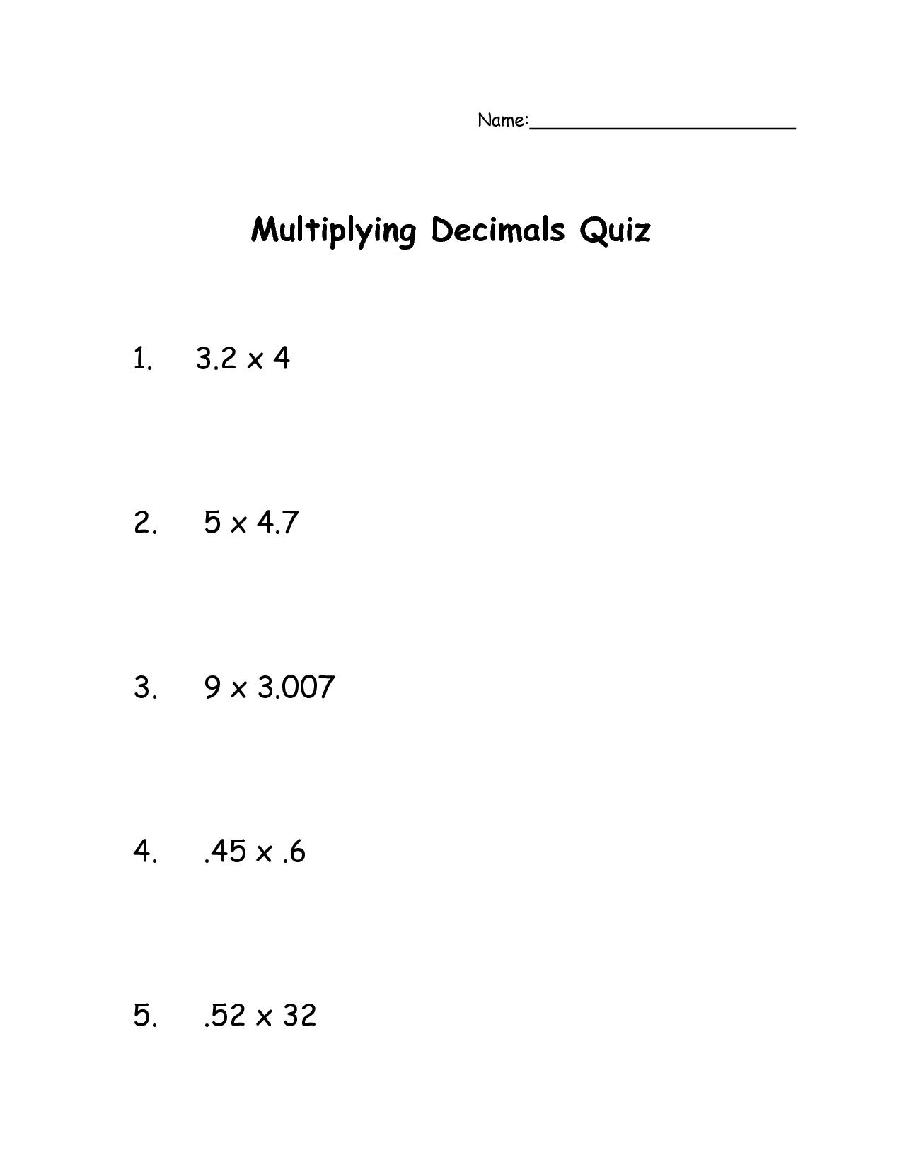 18 Best Images Of 7th Grade Estimation Worksheets