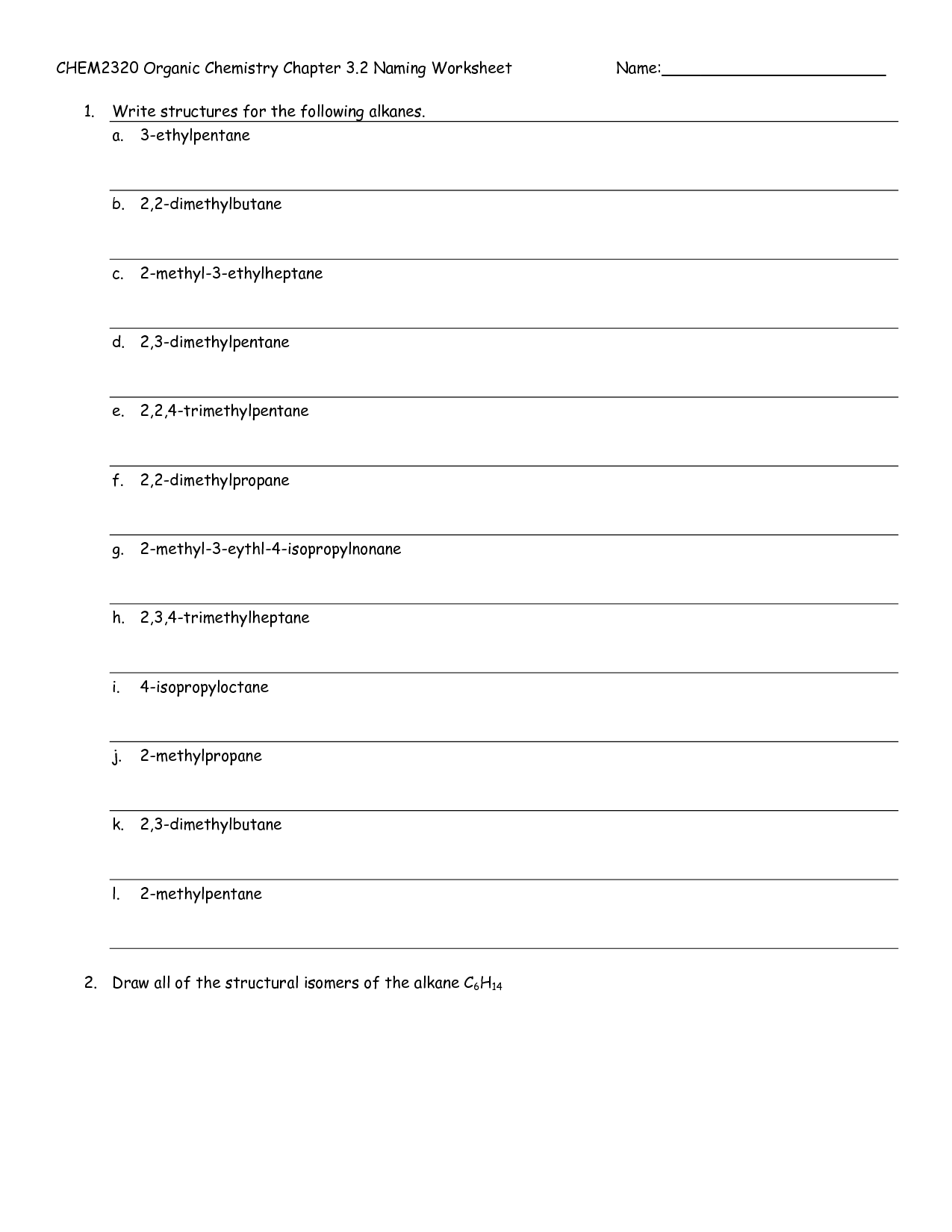 15 Best Images Of Organic Compounds Structure Worksheet