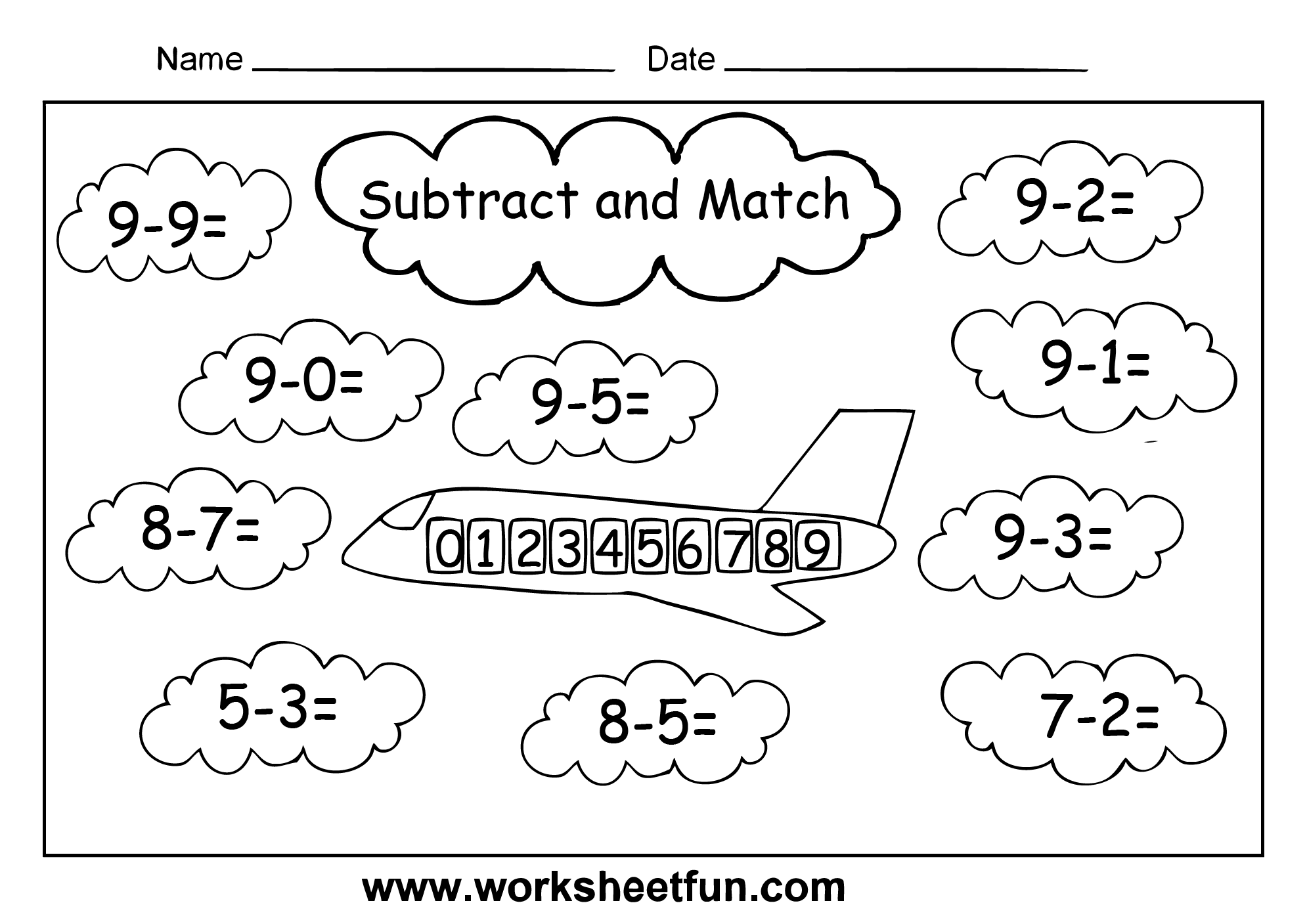 9 Best Images Of Cut And Paste Missing Number Worksheets For Kindergarten