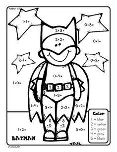 17 Best Images of Superhero Free Printable Math Worksheets