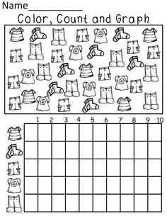 13 Best Images of Worksheets Kindergarten Data