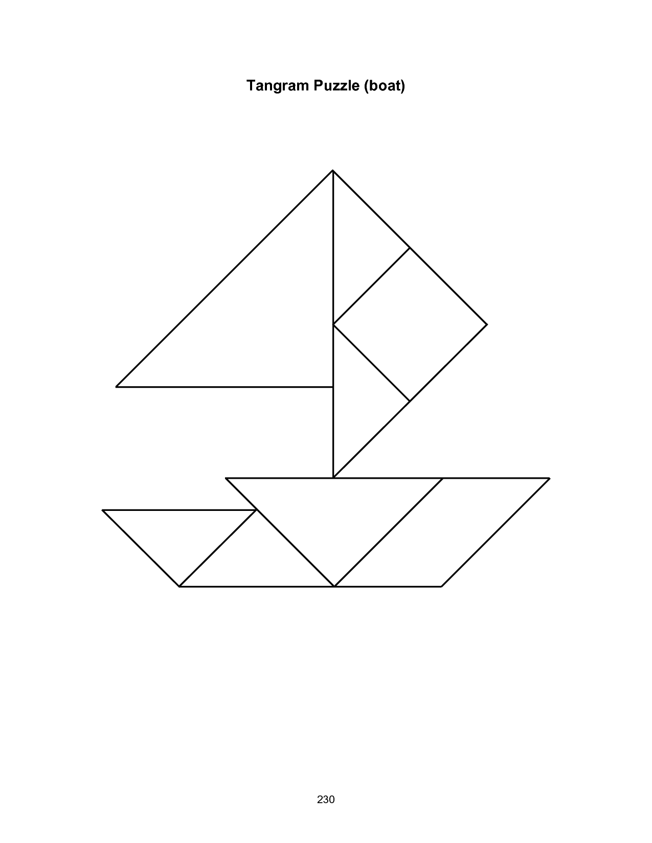 9 Best Images Of Free Printable Tangram Worksheets