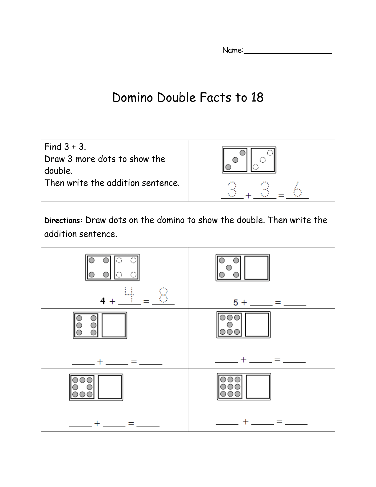 Doubles Math Facts Worksheet 19 Best Images Of Doubles Fact Practice Worksheet Doubles Plus One