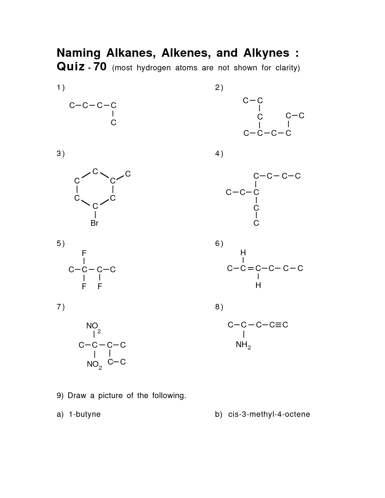 9 Best Images Of Functional Group Practice Worksheet