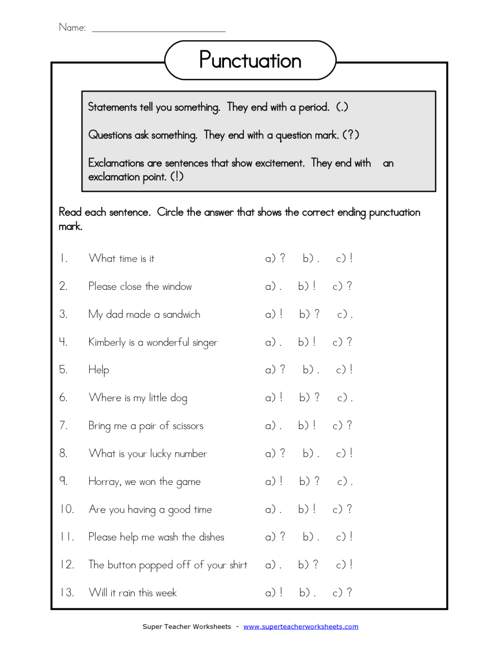 medium resolution of Printable Grammar Worksheets Quotation Marks   Printable Worksheets and  Activities for Teachers