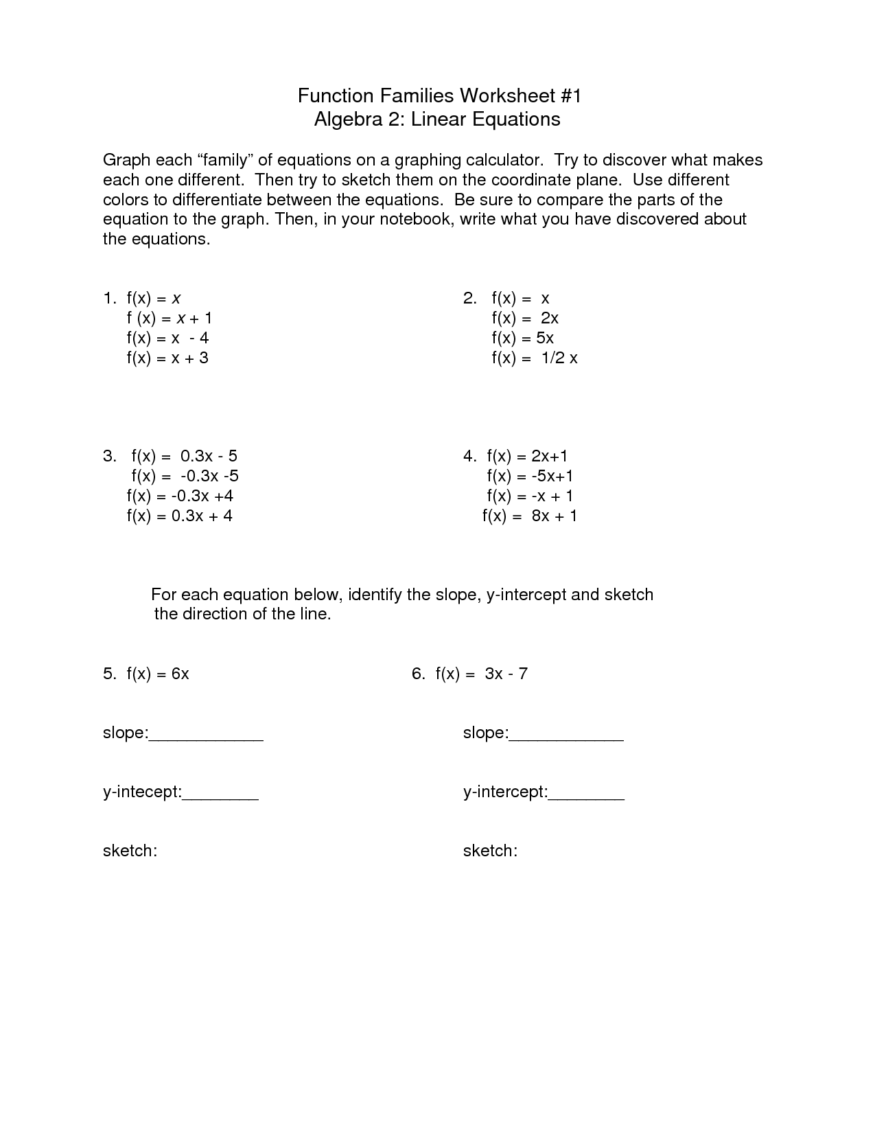 hight resolution of Equation Worksheets 8th Grade   Printable Worksheets and Activities for  Teachers