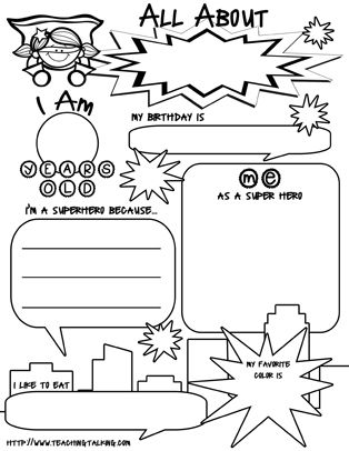16 Best Images of Getting To Know You Worksheet Middle