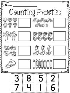 15 Best Images of Cut And Paste Numbers 1- 20 Worksheet