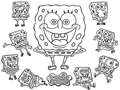 16 Best Images of Spongebob Math Coloring Worksheets