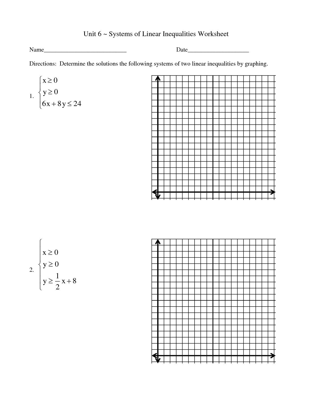 15 Best Images Of Solving And Graphing Inequalities