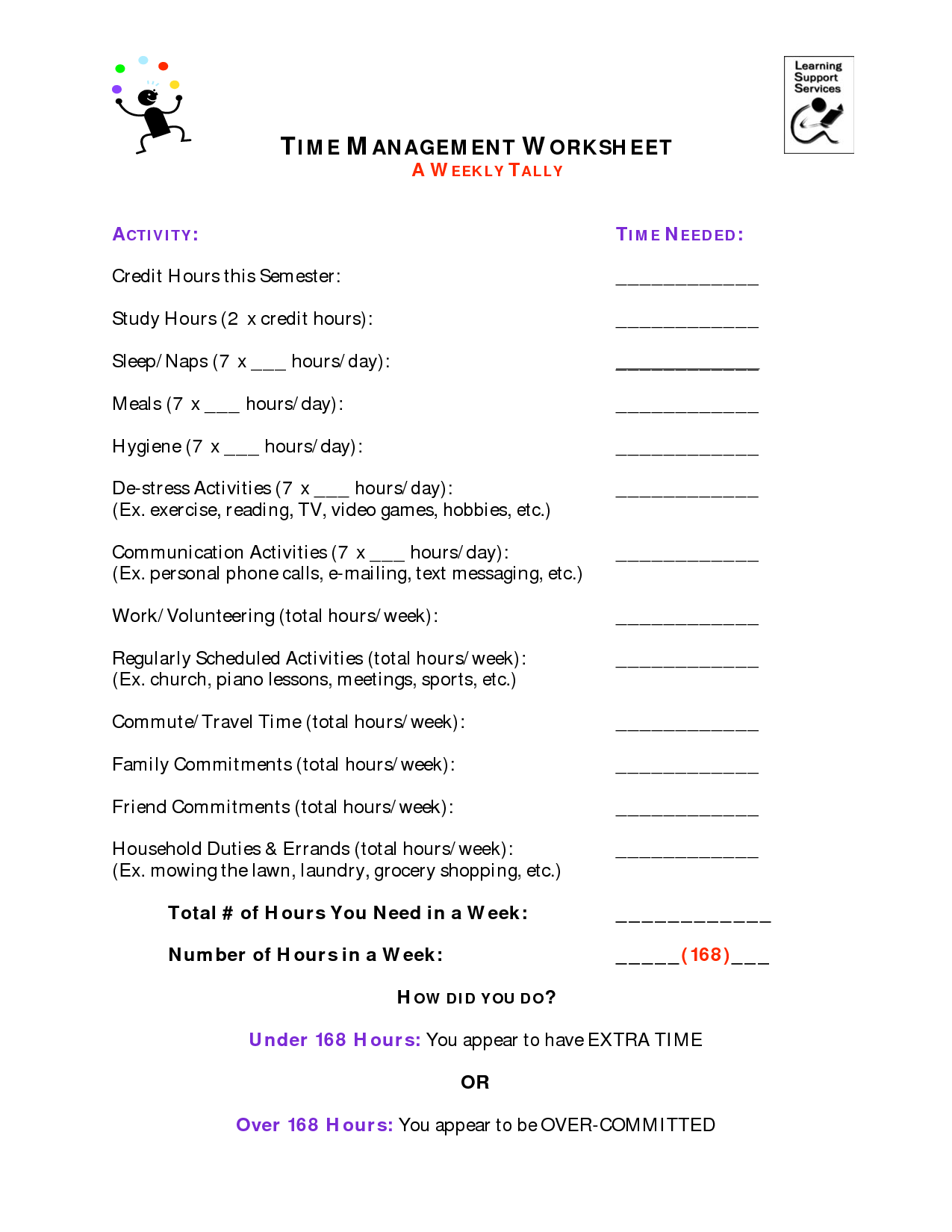 8 Best Images Of Stress Management Worksheets