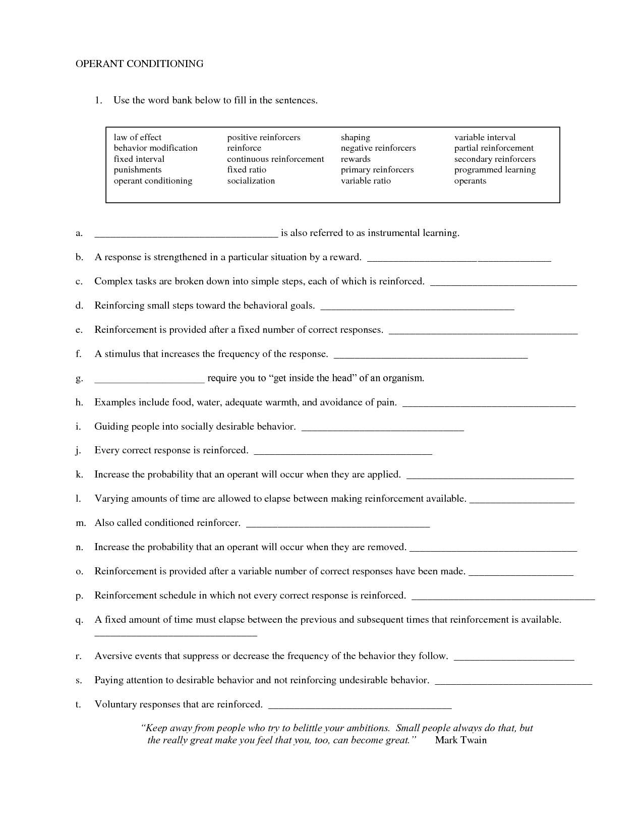 11 Best Images Of Self Responsibility Worksheets