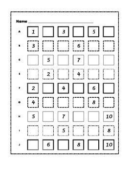 14 Best Images of Kindergarten Counting Worksheets 1- 100