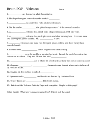 16 Best Images of Printable Volcano Worksheets - Free ...