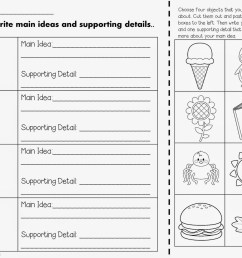Main Idea Worksheets 2nd Grade   Printable Worksheets and Activities for  Teachers [ 1237 x 1600 Pixel ]