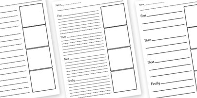 8 Best Images of Primary Sequence Of Events Worksheets