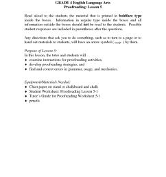 Grade Language Art Worksheet   Printable Worksheets and Activities for  Teachers [ 1650 x 1275 Pixel ]