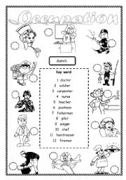 16 Best Images of Printable Career Worksheets Matching