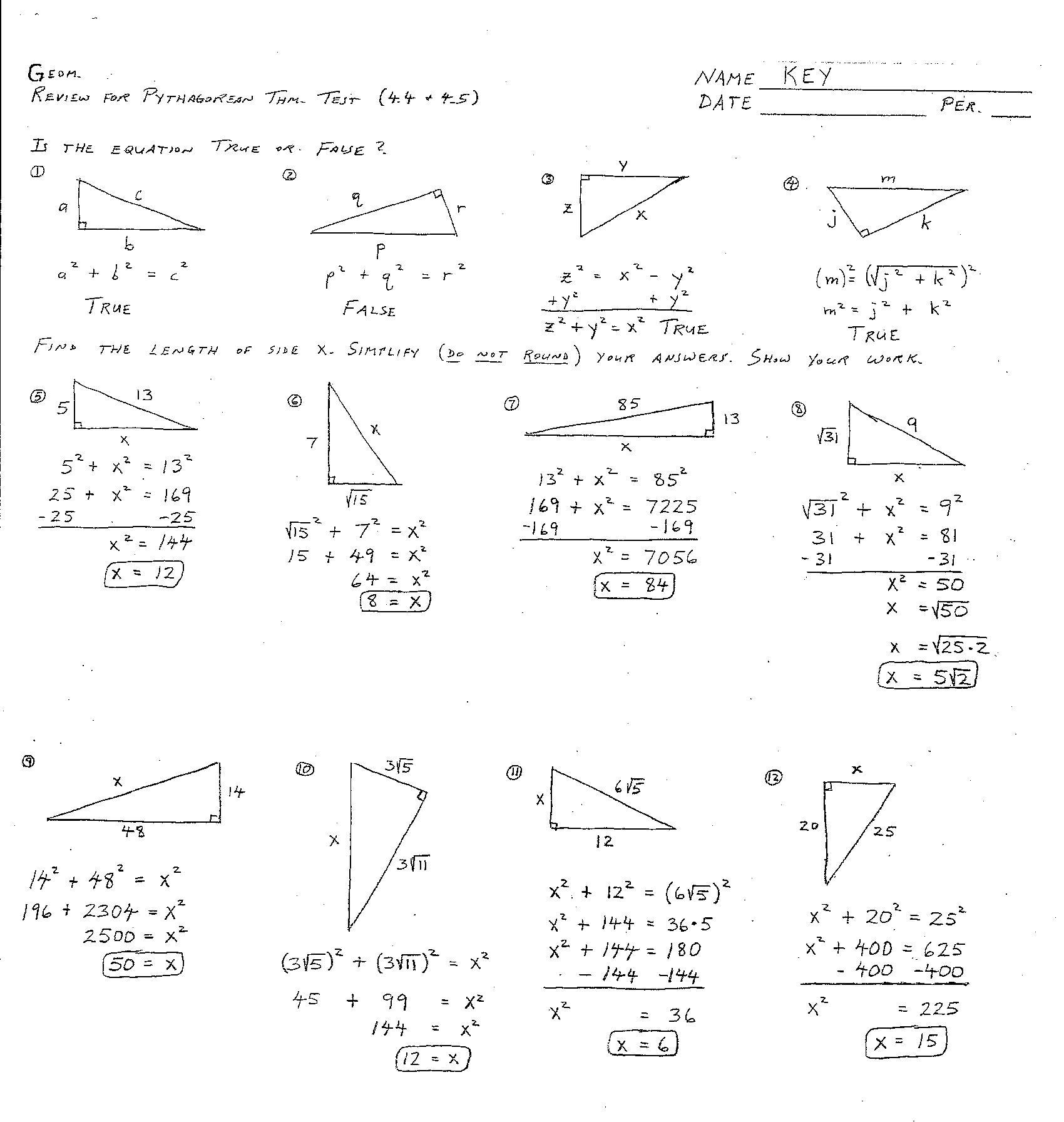 Classify Angles Geometry Worksheet