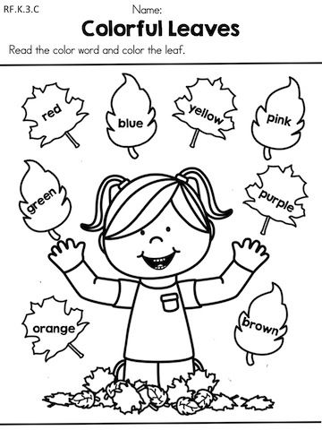 11 Best Images of Preschool Worksheets Free Printable Fall