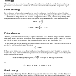 Potential Energy Diagram Worksheet Key 1990 Jeep Wrangler Horn Wiring 17 Best Images Of Practice Problems