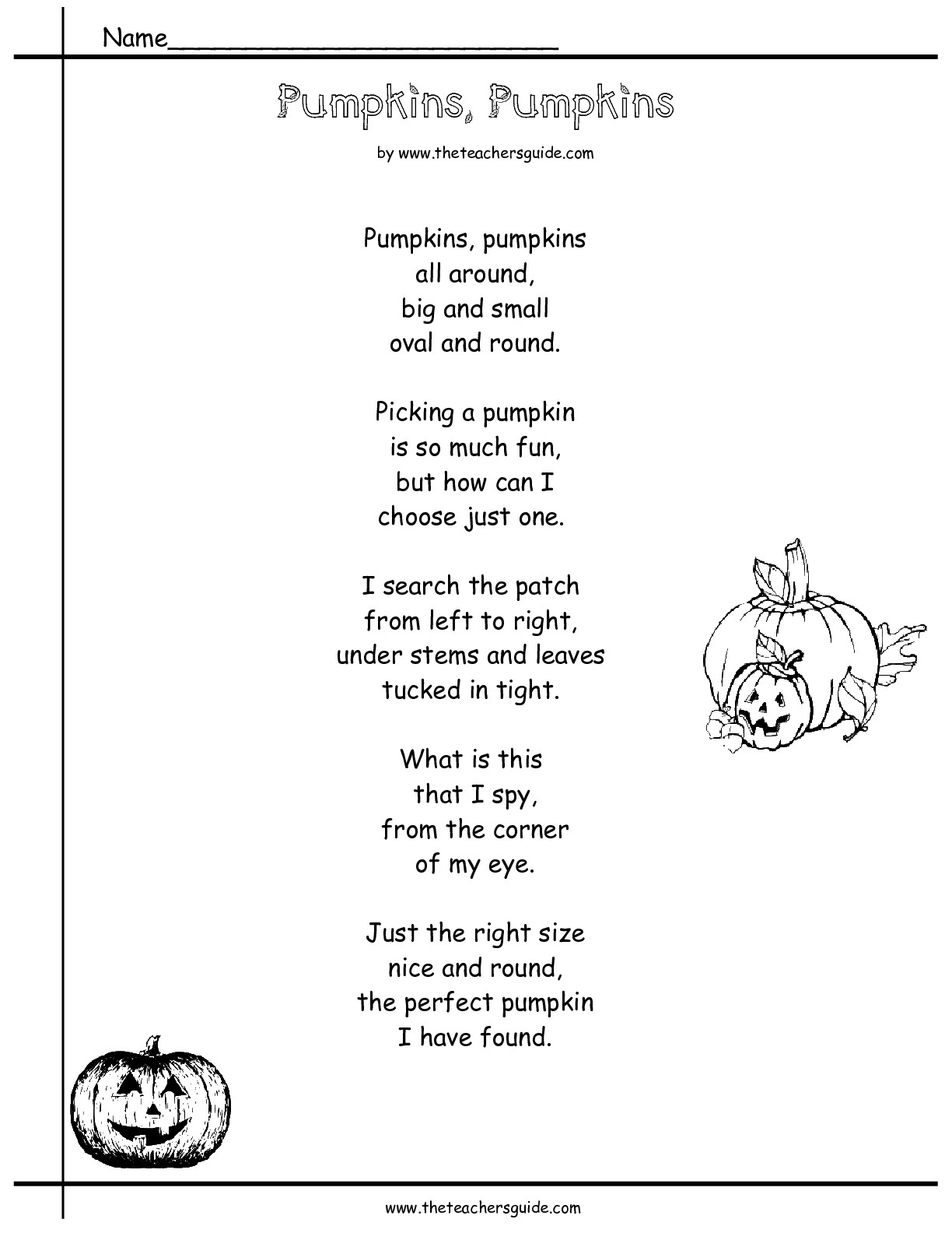 13 Best Images Of Autumn Reading Worksheets
