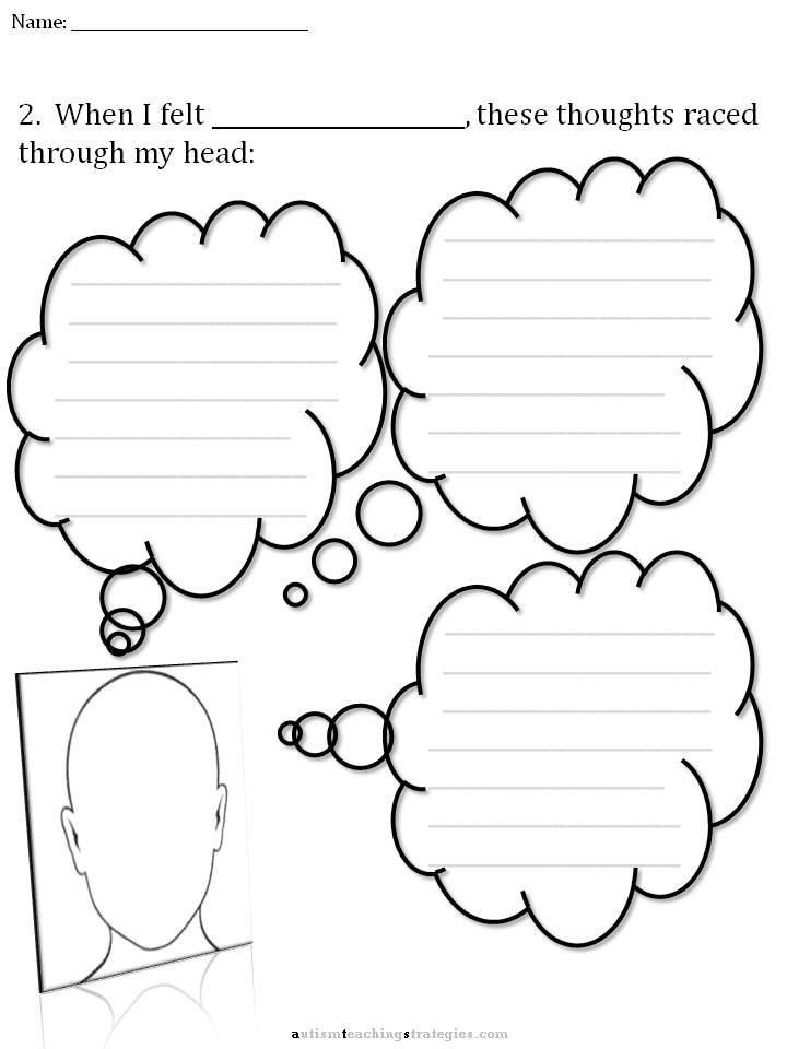 11 Best Images of Autism Social Skills Activity Worksheets