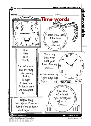 16 Best Images of Free Sequence Of Events Worksheets