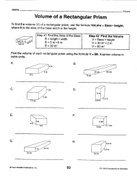 Surface Area Triangular Prism Worksheet | www.imgkid.com ...