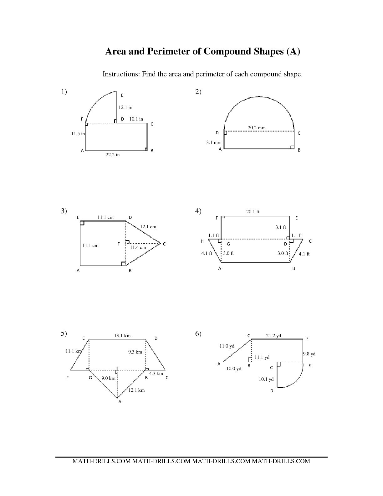 5 Best Images Of Similar Shapes Ratio Worksheet