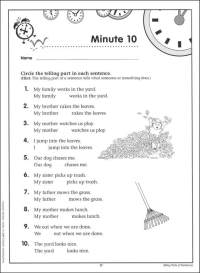 18 Best Images of 1st Grade Grammar Noun Worksheets ...