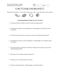 11 Best Images of Fossils Activities Worksheets - Fossil ...