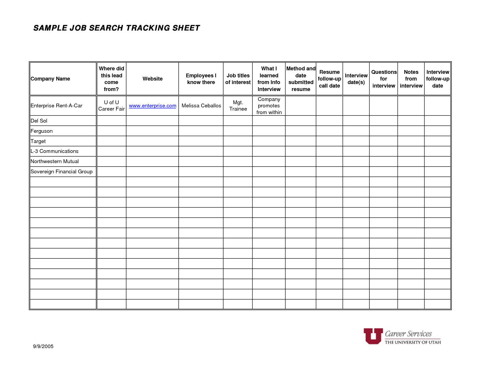Printable Meal Tracker Worksheet