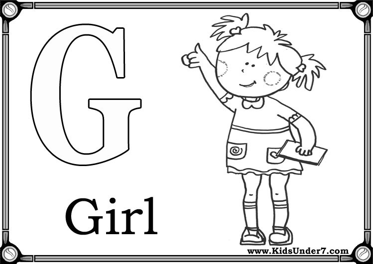 12 Best Images of Letter G Worksheets For Pre-K