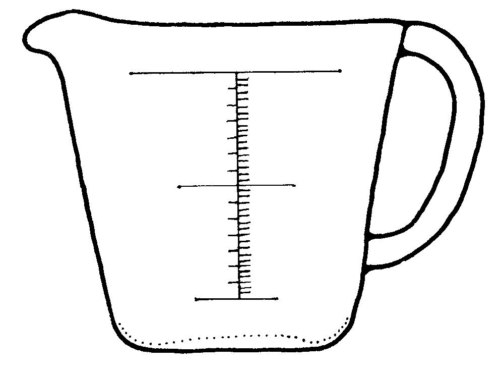 12 Best Images of Fraction Worksheets Measuring Cup