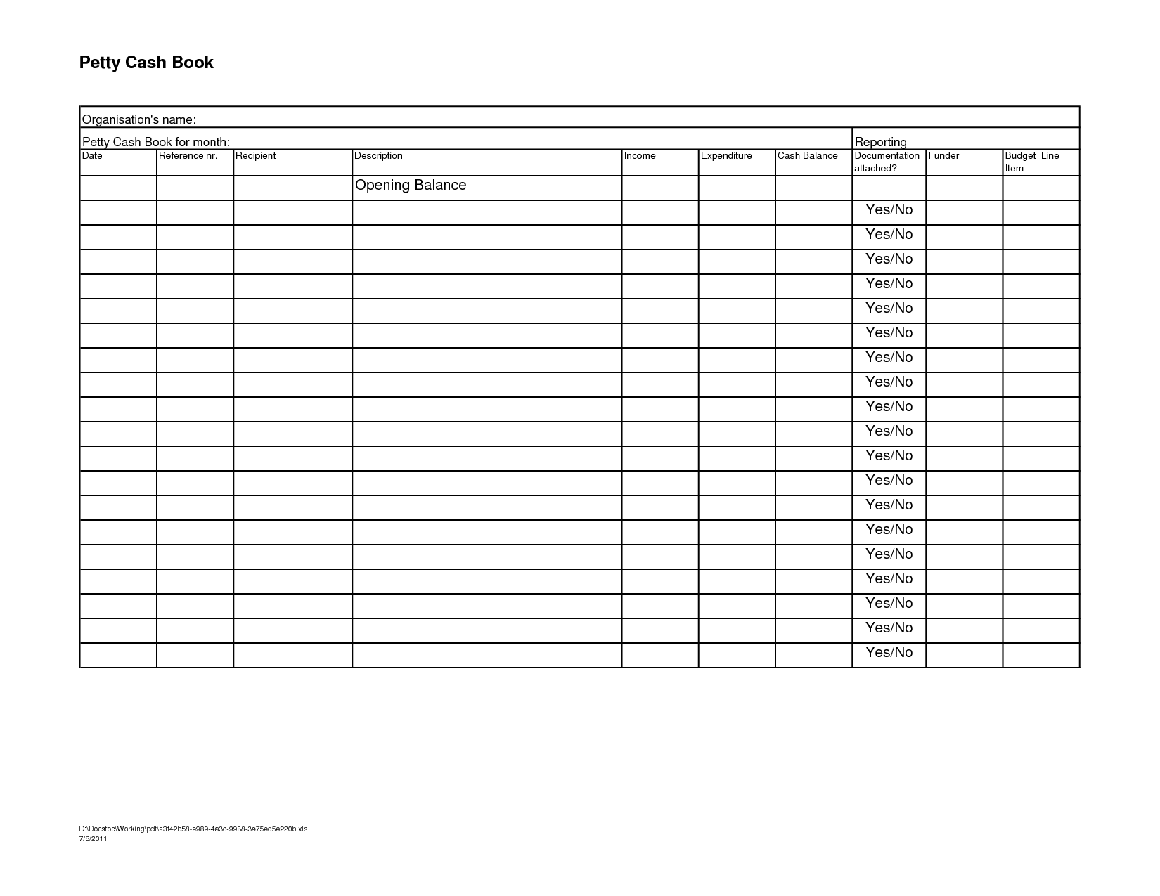 15 Best Images Of Financial Worksheet Excel