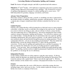 Capitalization Worksheets Fourth Grade   Printable Worksheets and  Activities for Teachers [ 1650 x 1275 Pixel ]