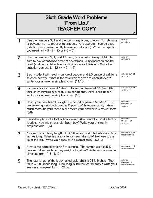 small resolution of Perimeter And Area Worksheets 6th Grade Tests   Printable Worksheets and  Activities for Teachers