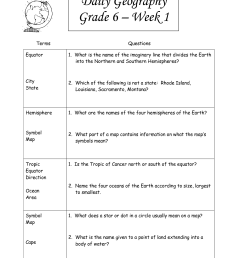 Seventh Grade History Worksheets   Printable Worksheets and Activities for  Teachers [ 1650 x 1275 Pixel ]