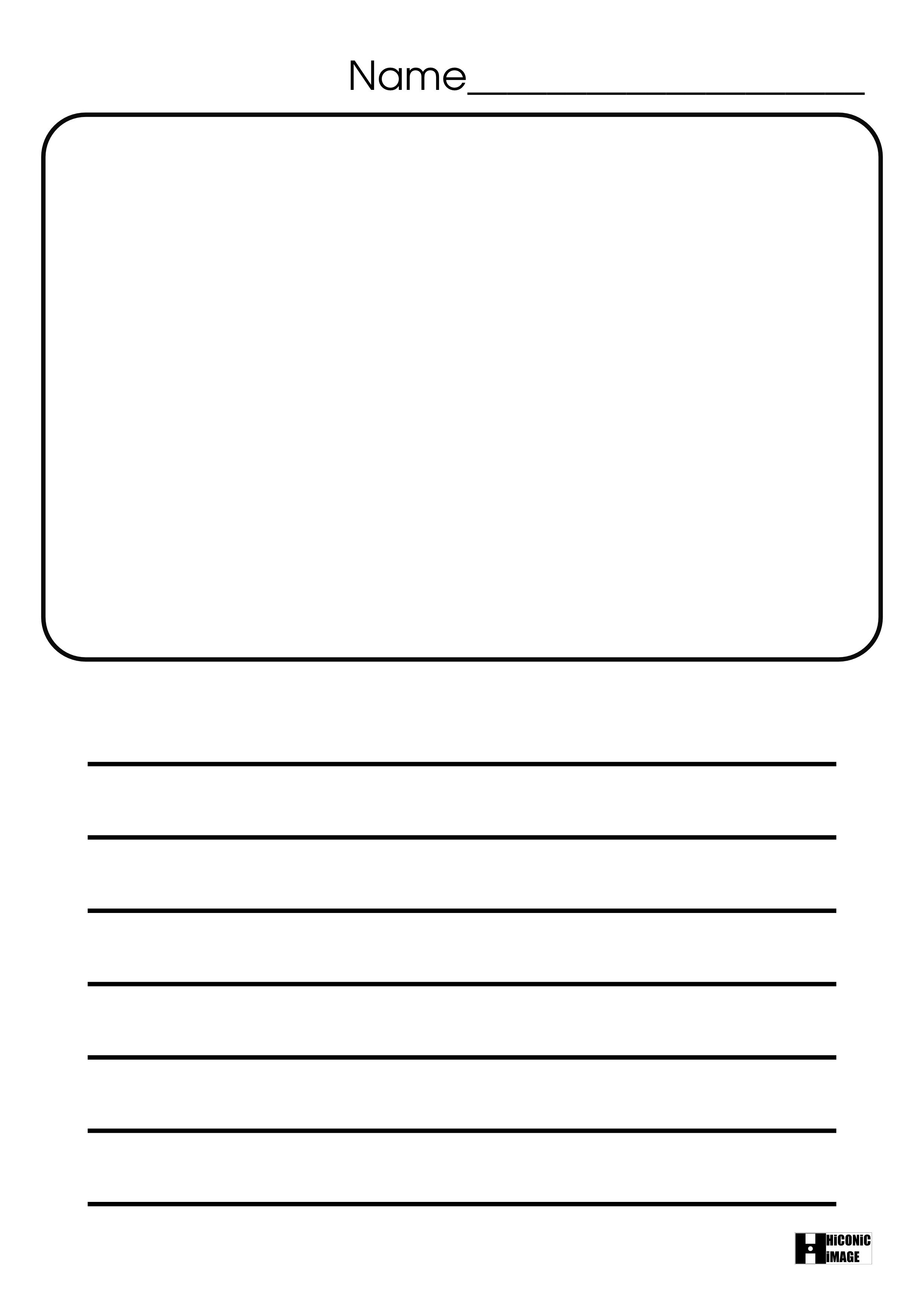 Blank Line Worksheet