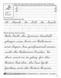 15 Best Images of 6th Grade Cursive Worksheets - Free ...