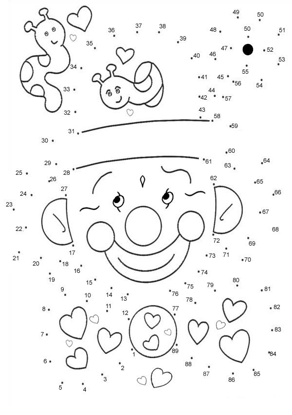 8 Best Images of Difficult Connect The Dots Worksheet