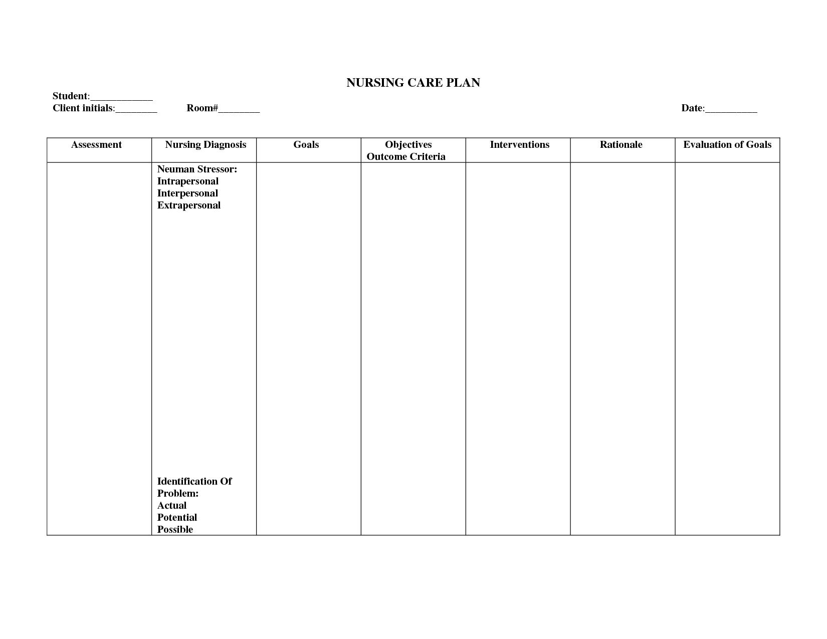Printable Vital Sign Worksheet
