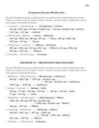 15 Best Images of Classifying Chemical Reactions Worksheet ...