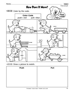 11 Best Images of Science Force And Motion Worksheets