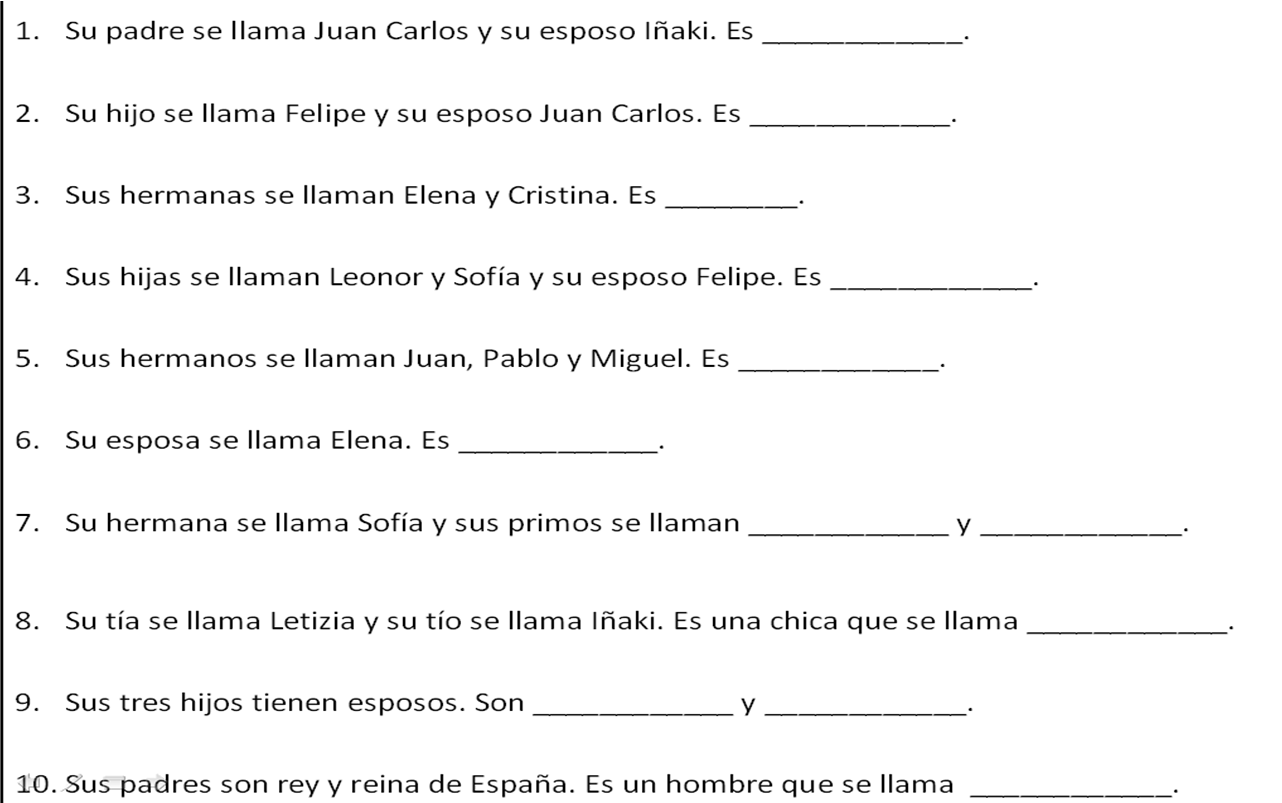 12 Best Images Of Friends And Family Worksheets