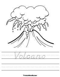 11 Best Images of Parts Inside A Volcano Worksheet - Parts ...