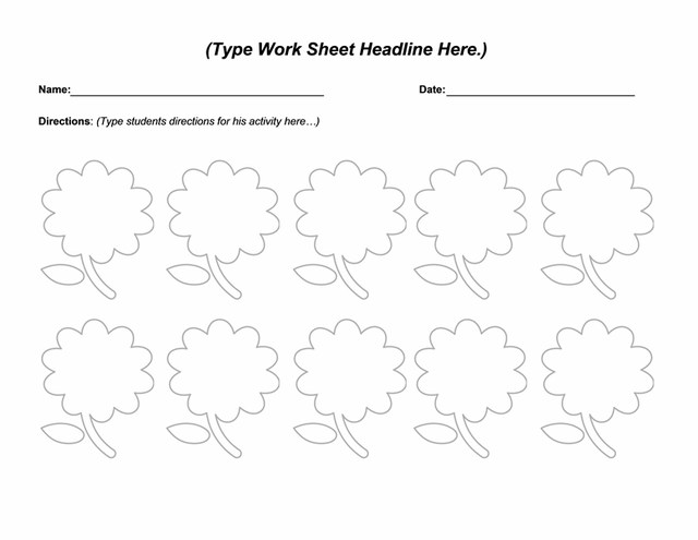 16 Best Images of Microsoft Word Worksheets For Middle